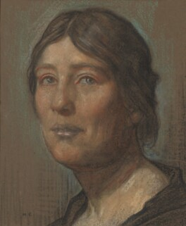 Sylvia Pankhurst, by Herbert Cole, circa 1925 - NPG  - © National Portrait Gallery, London