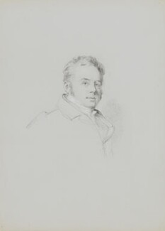 John Buonarotti Papworth, by William Brockedon - NPG 2515(53)