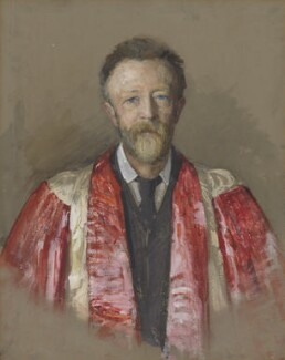 Sir Walter Parratt, by Miss E.M. Ellison, circa 1890 - NPG  - © National Portrait Gallery, London