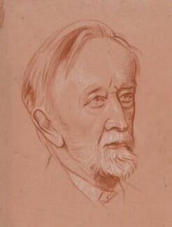 Sir Walter Parratt, by William Rothenstein - NPG 4791