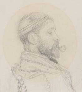 Alfred William Parsons, by Alfred William Parsons - NPG 2674