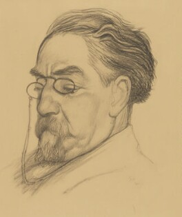 Sidney James Webb, Baron Passfield, by Eric Gill, 1927 - NPG 5203 - © National Portrait Gallery, London