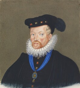 Sir Amias Paulet, copy by George Perfect Harding, after  Unknown artist - NPG 2399