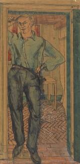 Humfry Gilbert Garth Payne, by Ithell Colquhoun - NPG 5269