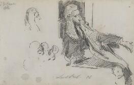 Arthur Wellesley Peel, 1st Viscount Peel, by Sydney Prior Hall - NPG 2326