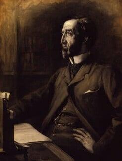 Arthur Wellesley Peel, 1st Viscount Peel, by Lance Calkin - NPG 4085