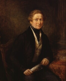 Sir Robert Peel, 2nd Bt, by John Linnell - NPG 772