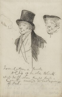 Sir Robert Peel, 2nd Bt, by Sydney Prior Hall - NPG 2378