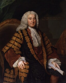 Henry Pelham, by William Hoare - NPG 221