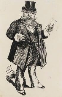 Carlo Pellegrini, by Harry Furniss, circa 1919 -NPG 3500 - © National Portrait Gallery, London