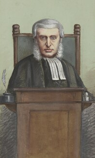 James Plaisted Wilde, Baron Penzance, by Carlo Pellegrini - NPG 2739
