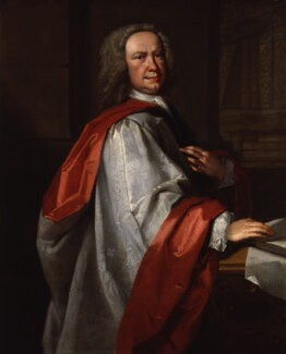 Johann Christoph Pepusch, by Thomas Hudson, circa 1735 - NPG 2063 - © National Portrait Gallery, London