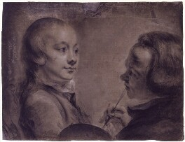 Robert West; Matthew William Peters, by Matthew William Peters - NPG 2169