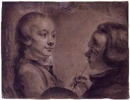 Robert West; Matthew William Peters, by Matthew William Peters, 7 November 1758 - NPG 2169 - © National Portrait Gallery, London