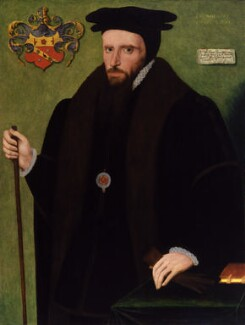 Sir William Petre, by Unknown artist - NPG 3816