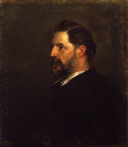 Sir (William Matthew) Flinders Petrie, by George Frederic Watts - NPG 3959