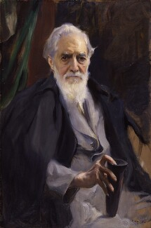Sir (William Matthew) Flinders Petrie, by Philip Alexius de László - NPG 4007