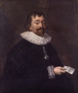 Sir Robert Phelips, attributed to Hendrik Gerritsz. Pot - NPG 3790