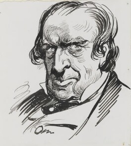 Samuel Phelps, by Harry Furniss - NPG 3503