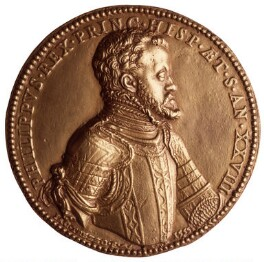 Philip II, King of Spain, after Jacopo da Trezzo - NPG 446(2)