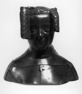 Philippa of Hainault, by Elkington & Co, cast by  Domenico Brucciani, after  Jean de Liège, 1873, based on a work of circa 1367 - NPG 346 - © National Portrait Gallery, London