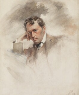 Stephen Phillips, by Percy Anderson - NPG 4338