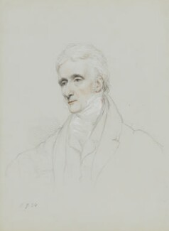 Thomas Phillips, by William Brockedon, 1834 - NPG 2515(70) - © National Portrait Gallery, London