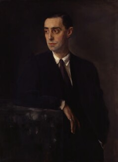 Glyn Warren Philpot, by Sir Oswald Birley - NPG 3651