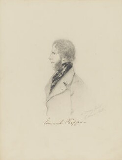 Edmund Phipps, by Alfred, Count D'Orsay - NPG 4026(45)