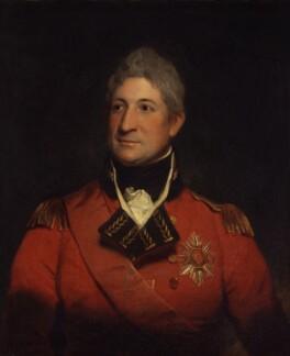 Sir Thomas Picton, by Sir Martin Archer Shee - NPG 126