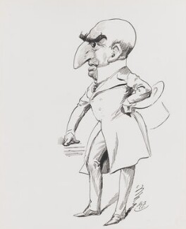 Sir Arthur Wing Pinero, by Harry Furniss - NPG 4095(9)