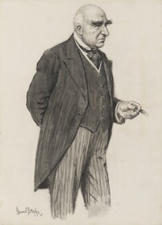 Sir Arthur Wing Pinero, by Bernard Partridge - NPG 3675