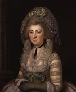 Hester Lynch Piozzi (née Salusbury, later Mrs Thrale), by Unknown Italian artist - NPG 4942