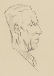 John Piper, by Sir David Low - NPG 4529(268)
