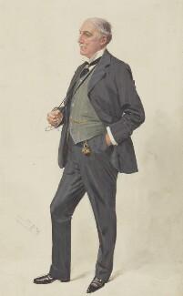 Alfred Chichele Plowden, by Sir Leslie Ward - NPG 2994