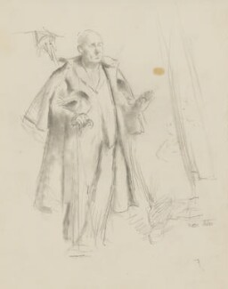 William Poel, by Henry Tonks - NPG 3072(11)