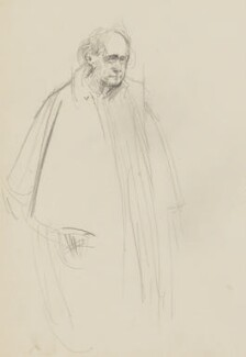 William Poel, by Henry Tonks - NPG 3072(8)