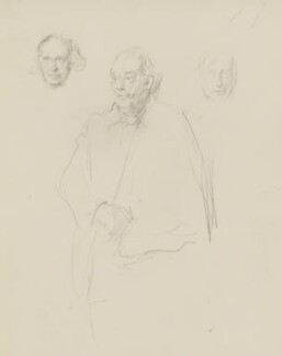 William Poel, by Henry Tonks - NPG 3072(9)