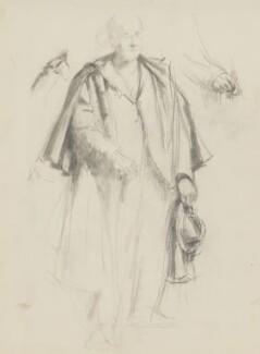 William Poel, by Henry Tonks - NPG 3072(12)