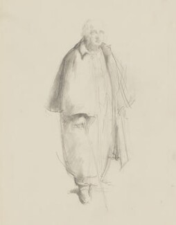 William Poel, by Henry Tonks - NPG 3072(13)