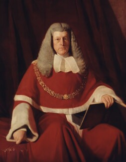 Sir (Jonathan) Frederick Pollock, 1st Bt, by Samuel Laurence - NPG 758