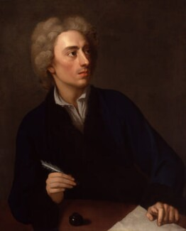 Alexander Pope, studio of Michael Dahl, circa 1727 - NPG 4132 - © National Portrait Gallery, London