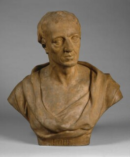 Alexander Pope, after Louis François Roubiliac, possibly late 19th century, based on a work of circa 1738 - NPG 2483 - © National Portrait Gallery, London