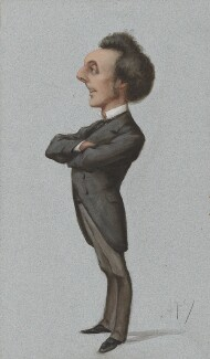 Sir John Pope-Hennessy, by Carlo Pellegrini - NPG 3267