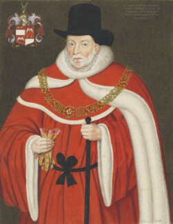 Sir John Popham, copy by George Perfect Harding, after  Unknown artist,  - NPG 2405 - © National Portrait Gallery, London
