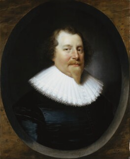 Unknown man, formerly known as Richard Weston, 1st Earl of Portland, by Cornelius Johnson, 1627 - NPG 1344 - © National Portrait Gallery, London