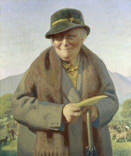 Beatrix Potter, by Delmar Banner, 1938 - NPG  - © National Portrait Gallery, London