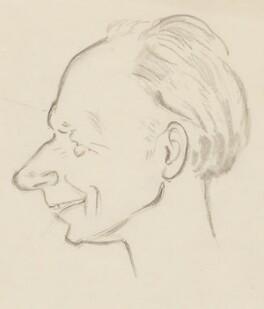 Stephen Potter, by Sir David Low - NPG 4529(273)