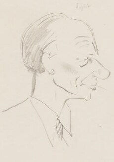 Stephen Potter, by Sir David Low - NPG 4529(274)