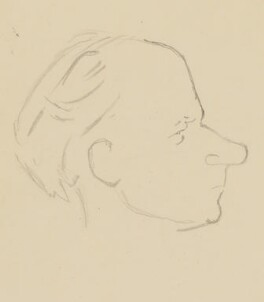 Stephen Potter, by Sir David Low - NPG 4529(276)